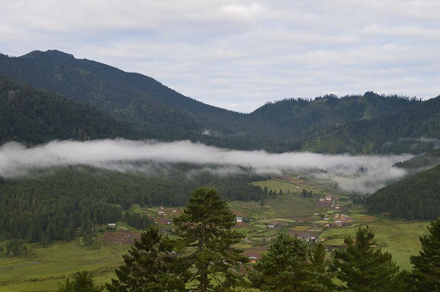 不丹小清新风景高清